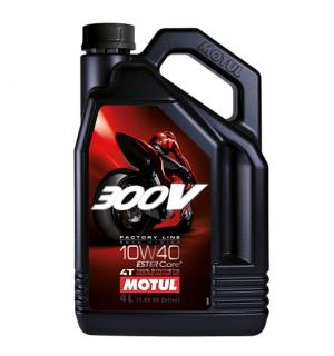 Motorno olje MOTUL 300V  10W-40, 4L JASO MA